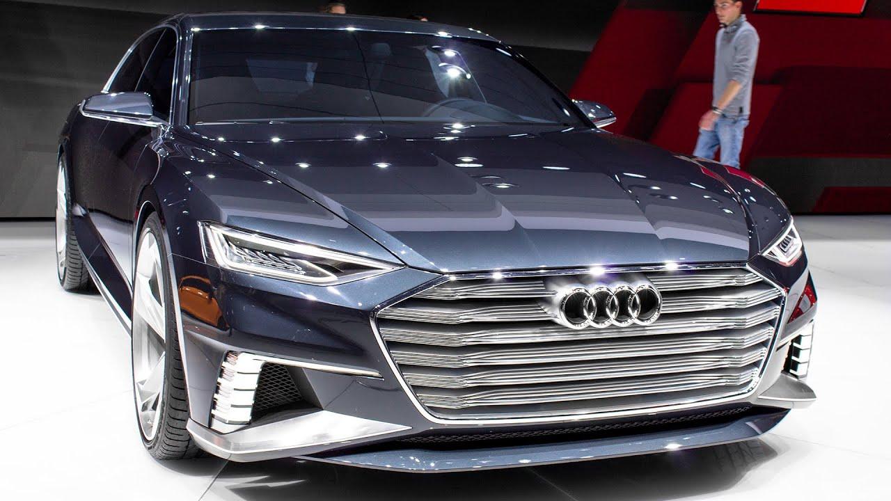 AUDI A9 PROLOGUE AVANT CONCEPT - GENEVA MOTOR SHOW 2015 HQ - YouTube
