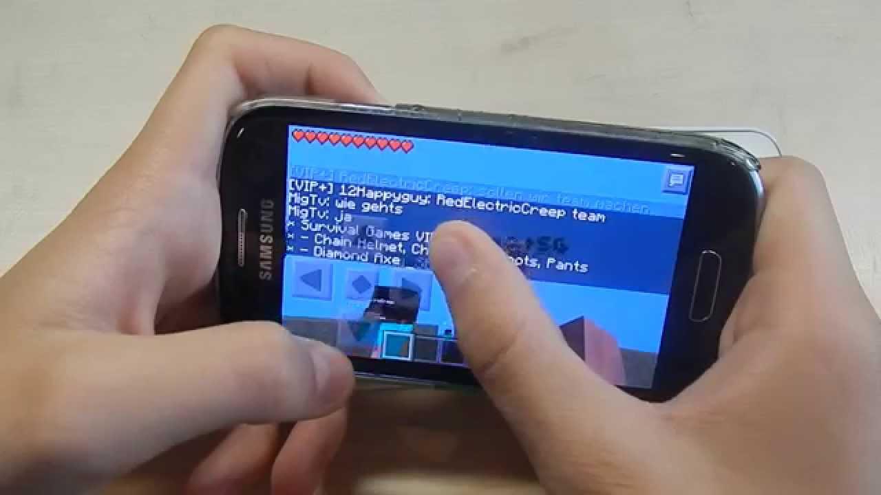 Minecraft PE Auf Android Und Apple ONLINE Spielen Tutorial - Minecraft online spielen ab welchem alter