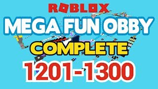 ROBLOX - MEGA FUN OBBY COMPLETED - Stufe 1201-1300 (Durcharbeiten)