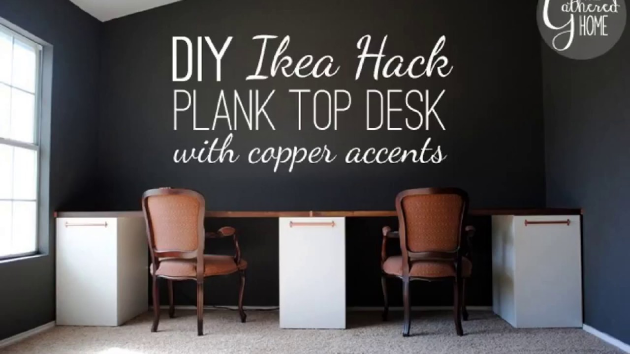 Attrayant Two Person Desk Diy