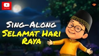 Video Upin & Ipin - Selamat Hari Raya [Sing-Along] download MP3, 3GP, MP4, WEBM, AVI, FLV Juni 2018