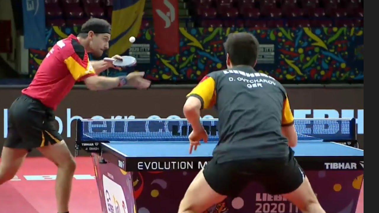 Download Final | Timo Boll (GER) vs Dimitrij Ovtchrov (GER) | European Championships 2021
