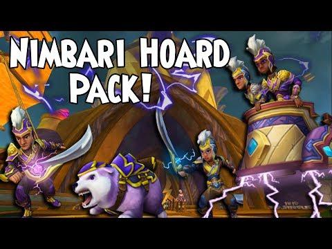 Wizard101 - Nimbari Hoard Pack! (Update) - YouTube