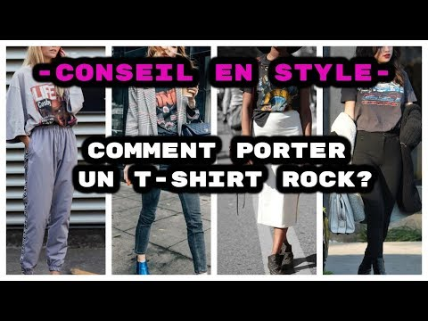 COMMENT STYLISER UN T-SHIRT ROCK ?  | The Fashion Trustee.