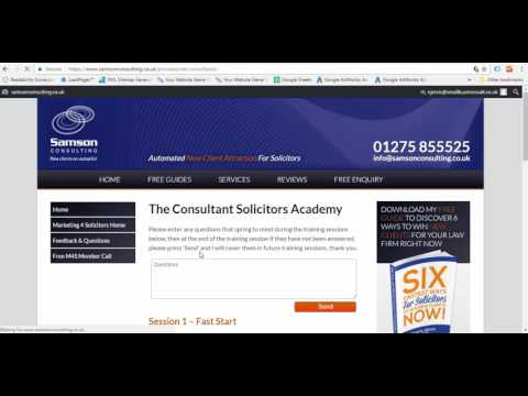 How To Access The Consultant Solicitors Academy