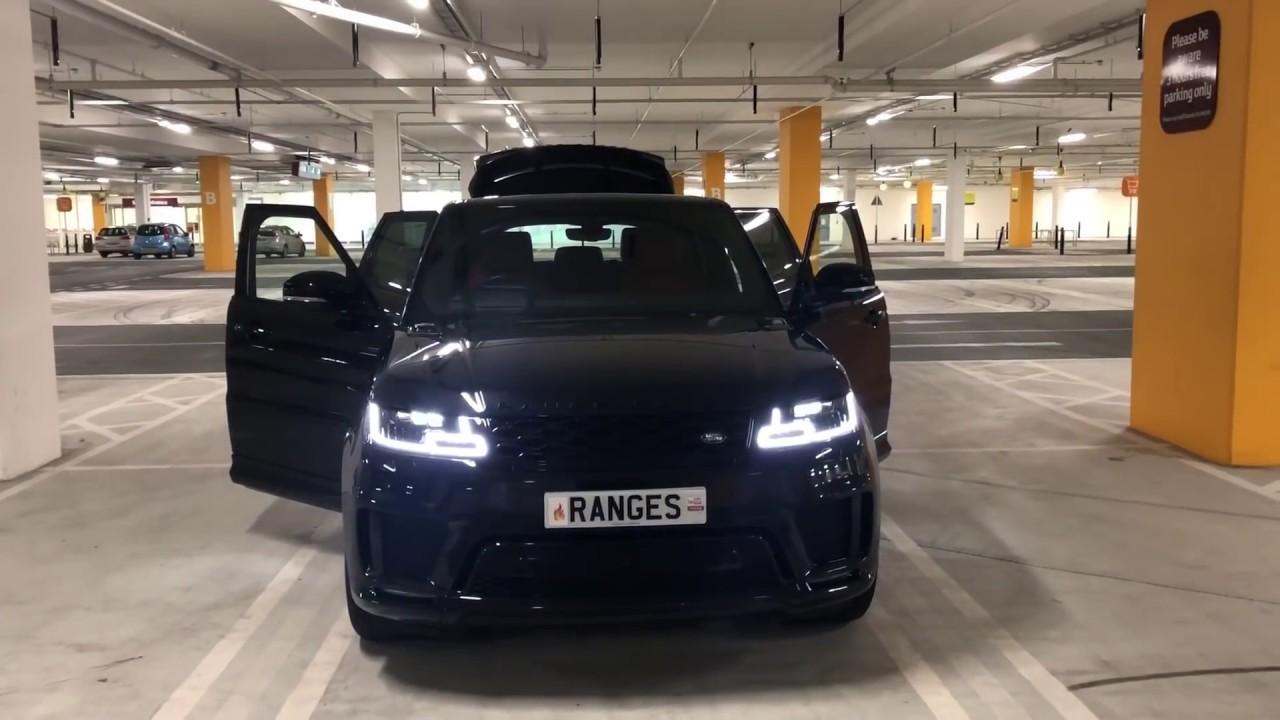 2020 Range Rover Sport Black edition SVR little bro