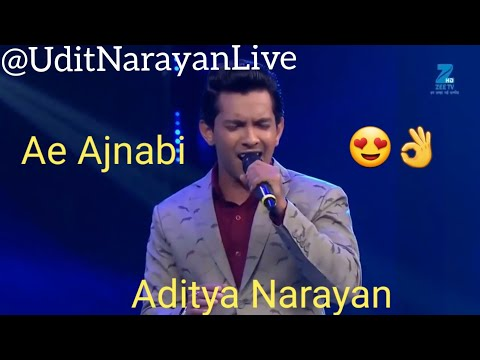 ae-ajnabi-by-aditya-narayan-and-jayesh-kumar-aditya-narayan-singing-his-father-udit-narayan-song