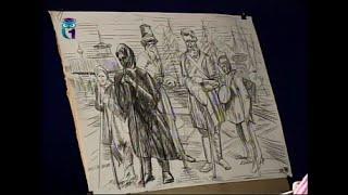 Уроки рисования (№ 117) карандашом. Рисуем наброски людей разных возрастов и профессий