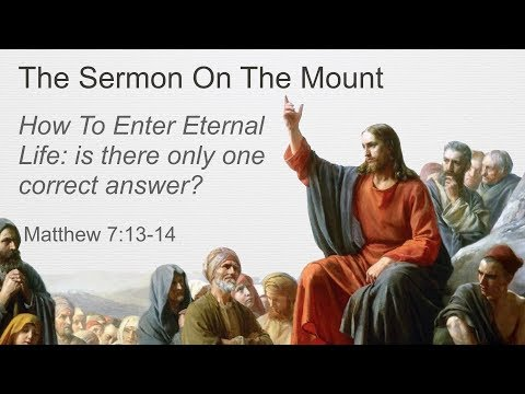 How to Enter Eternal Life: Is there only one correct answer?