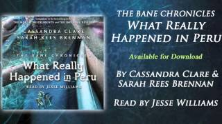 Actor Jesse Williams on narrating The Bane Chronicles: