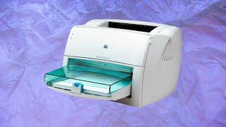 Розбирання лазерного принтера hp LaserJet 1000 Q1342A
