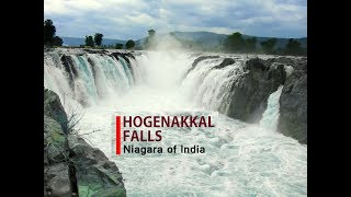 Hogenakkal Falls - Niagara of India - Tamil Nadu Tourism