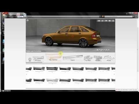 3D тюнинг любой машины! Смотрим