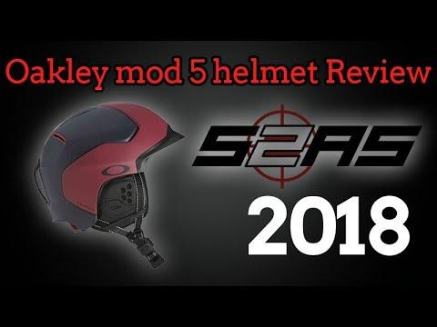 805f344af3 Oakley mod 5 Ski   Snowboard Helmet - YouTube
