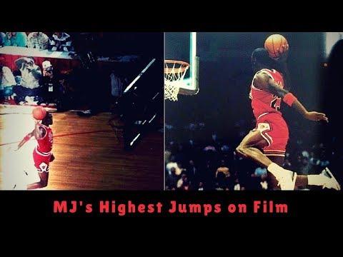 Michael Jordan Highest Jumps
