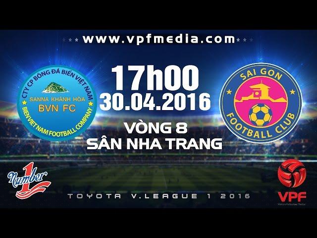 Xem lại: Sanna Khánh Hòa BVN vs Sài Gòn