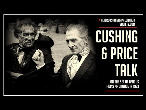 Peter Cushing & Vincent Price Interview AND Behind the Scenes on Madhouse (1974)