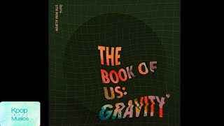 Day6 (데이식스) ('the 5th mini album'[the book of us: gravity]) audio track list: 1. for me 2. time our life (한 페이지가 될 수 있게) 3. how to love 4. i'll go back / ...