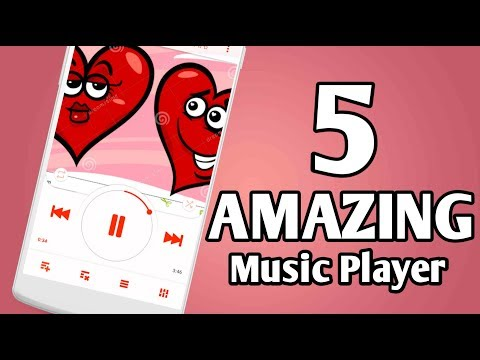 Top 5 AMAZING Music Player For Android 2018   Best Music Player For Android 2018