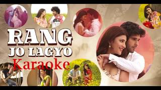 Rang Jo lagyo - Ramaiyya Vastavaiya Full Karaoke with Female Voice