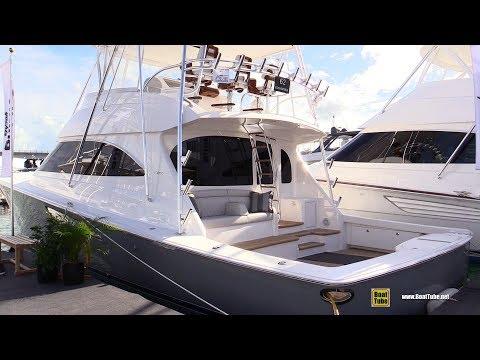 2019 Viking 62 Convertible Fishing Boat - Walkaround - 2019 Miami Yacht Show
