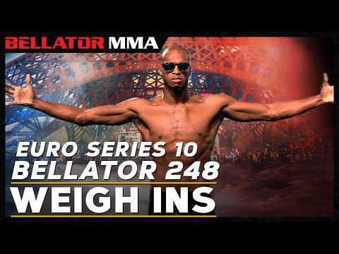 Weigh Ins | Bellator 248/ES 10: MVP vs. Houston