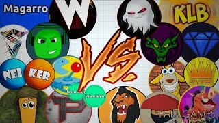 AGAR.IO | Good Bye Agar 😌 | THE BEST AGAR.IO PLAYERS 2015 VS THE OF 2016