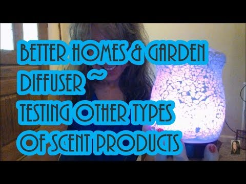 diffuser-part-2-|-better-homes-&-garden-cracked-mosaic-|-testing-other-types-of-oils