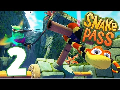 Gatekeeper Coin Collection (Levels 4-5) - Let's Play Snake Pass Gameplay - Part 2