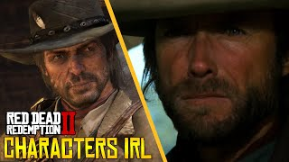13 CHARACTERS IN REAL LIFE - Red Dead Rdemption 2