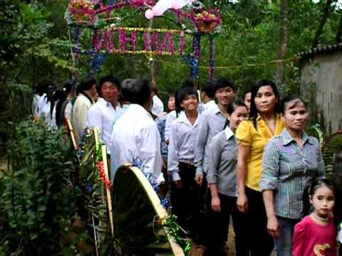 làng khe đám cưới lý hùng-thu hiền
