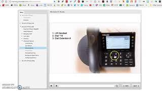 Use the Shoretel Intercom Function