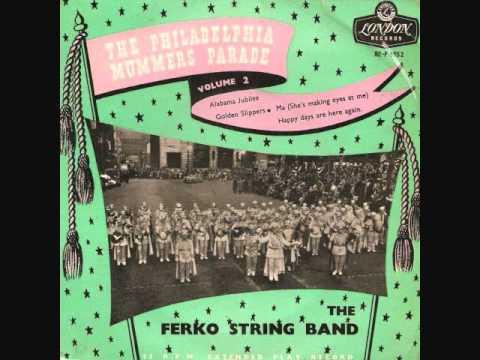 The Ferko String Band - Alabama Jubilee (1955)