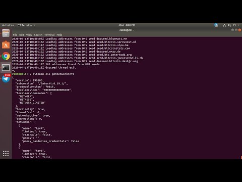 How I Install And Configure Bitcoin Core For Bitcoin Wallet On Ubuntu Linux 2020