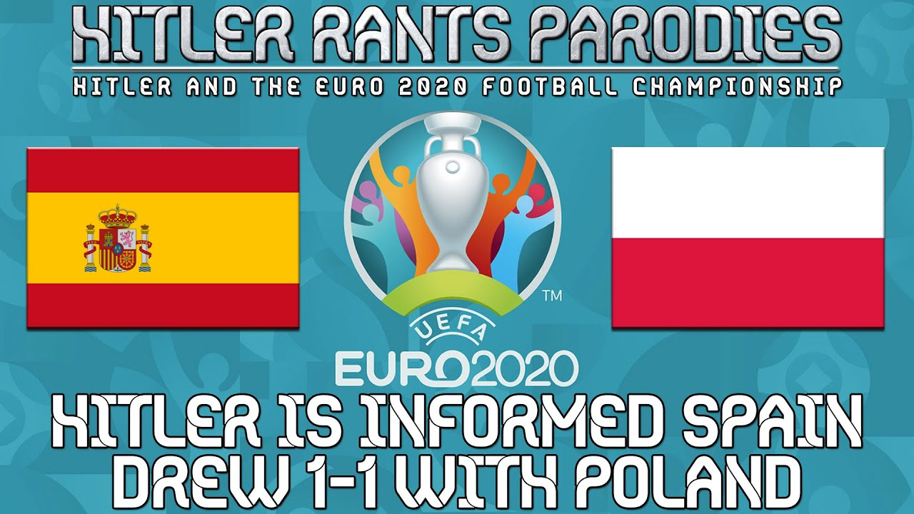 Hitler is informed Spain drew 1-1 with Poland