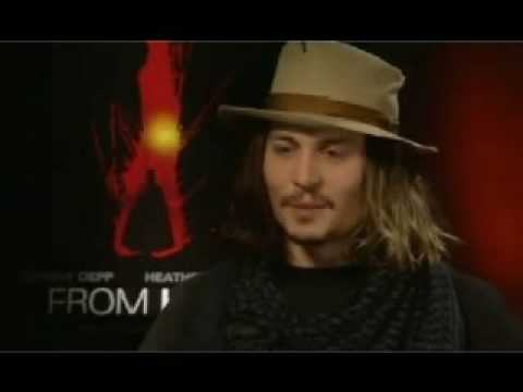 Johnny Depp - From Hell Interview