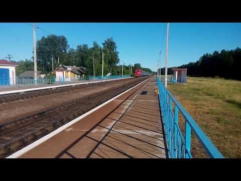 ТЭП70БС-178 с поездом №634Ф Коммунары-Гродно.