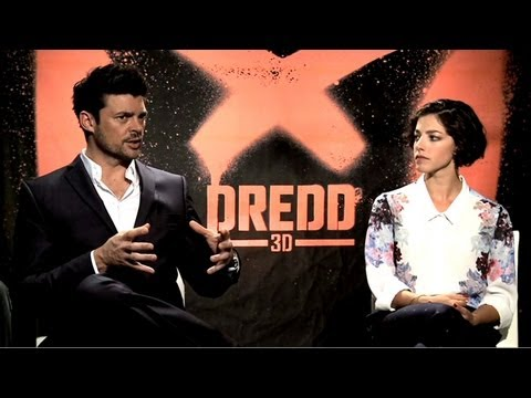 Dredd  Karl Urban and Olivia Thirlby  JoBlo.com