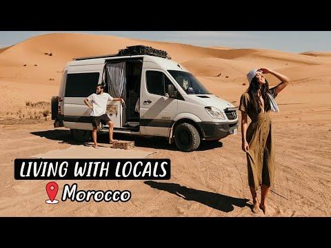 VAN LIFE IN THE SAHARA DESERT!!