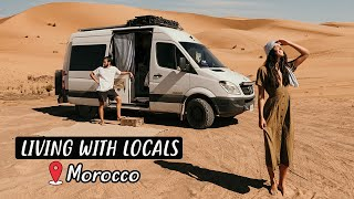 VAN LIFE IN THE SAHARA DESERT | Eamon & Bec