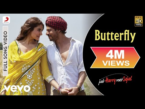 Butterfly Full Video - Full Song Video | Anushka | Shah Rukh | Pritam