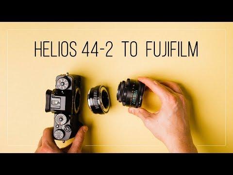 Helios 44 2 On A Fujifilm X T3 Adapter Impressions Youtube