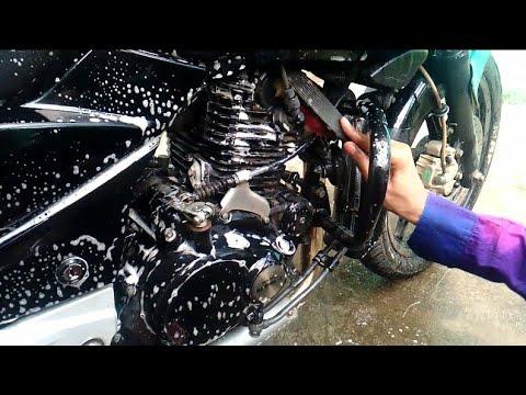 Bike wash with shampoo