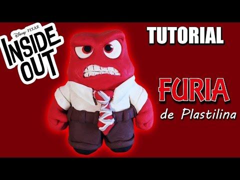DIY ANGER (Inside Out) * ¡¡Cómo hacer a FURIA con PLASTILINA!! ✅  Top Tips & Tricks en 1 minuto