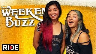 Lizzie Armanto & Allysha Le : Auby Taylor, Boba, Jeff Grosso & More! Weekend Buzz ep. 109 pt. 1