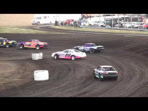 IMCA Stock Car Heats Benton County Speedway 4/22/18