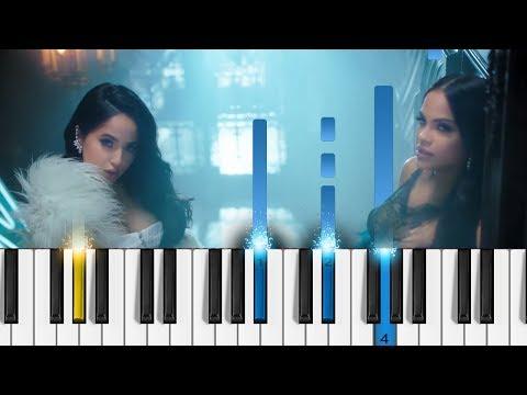 Becky G & Natti Natasha - Sin Pijama - Piano Tutorial  - Como tocar