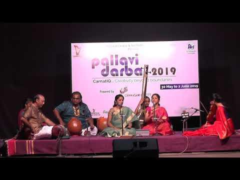 Akkarai Sisters   Grand Pallavi Darbar Concert L Carnatica & SPS Sabha L 2019