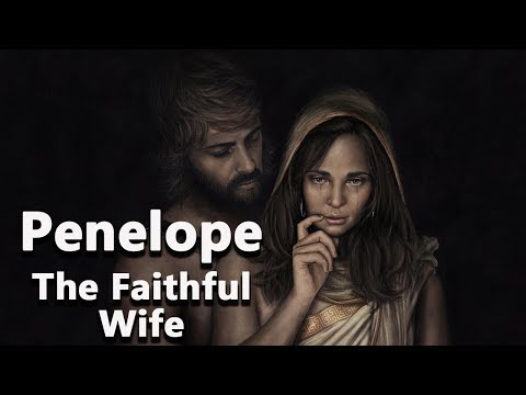 Penelope: The Faithful Wife of Odysseus - Mythology Dictionary - See U in History