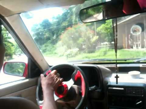 Kia Pride Test Drive Samal